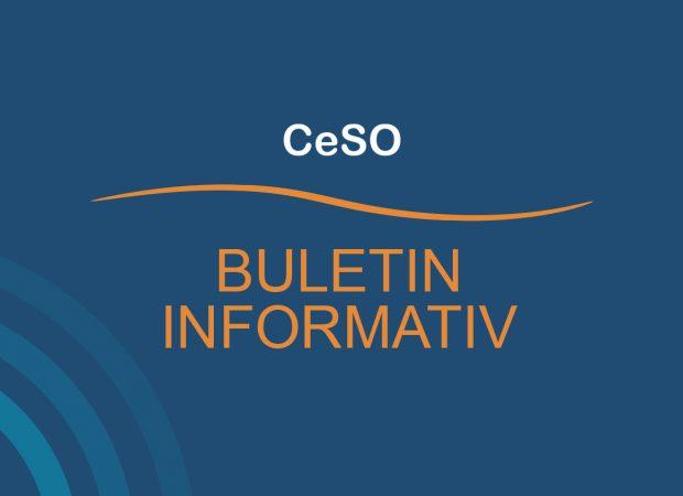 Buletin Informativ CeSO  – Mai 2021